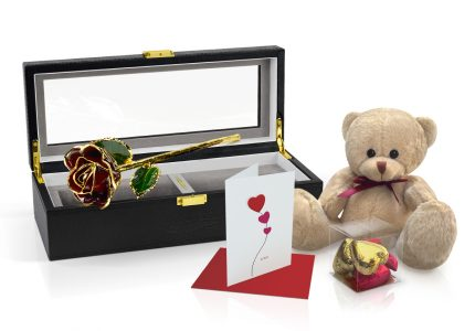 Burgundy-Rose-Gift-Set