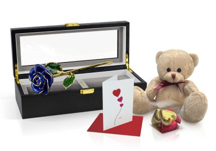Dark-Blue-Rose-Gift-Set